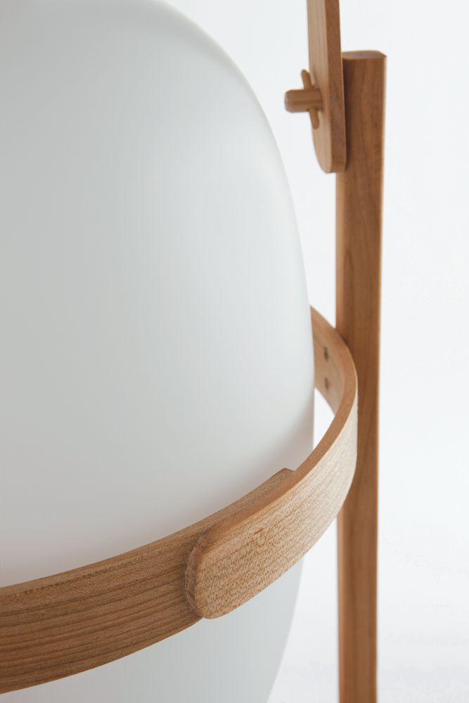 Cesta Floor Lamp by Santa & Cole