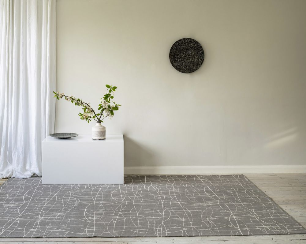 Cha Cha Screen Printed Rug by Helen Yardley Rugs