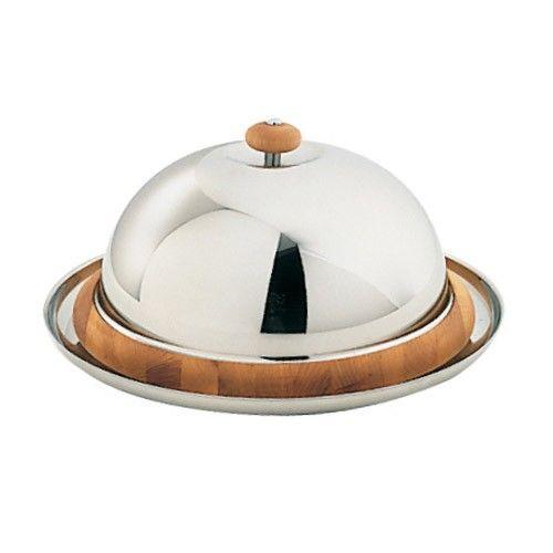Cheese Platter with Dome by Serafino Zani
