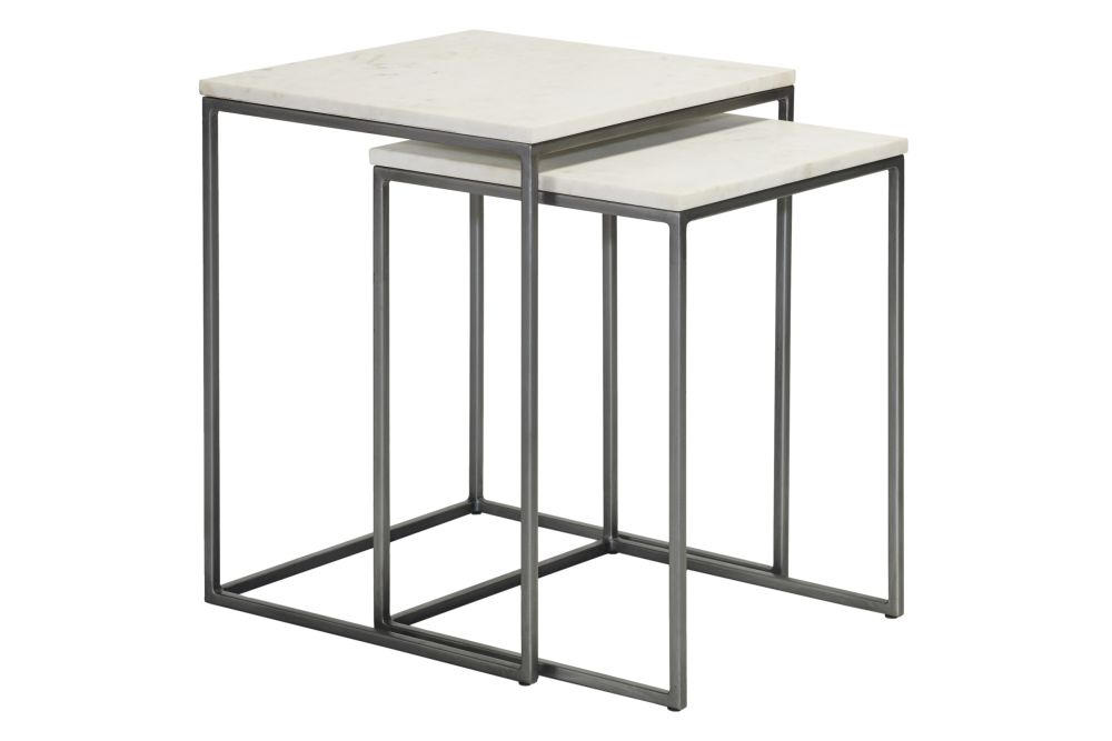 Chelsea Nest of Two Square Side Tables by Content by Terence Conran