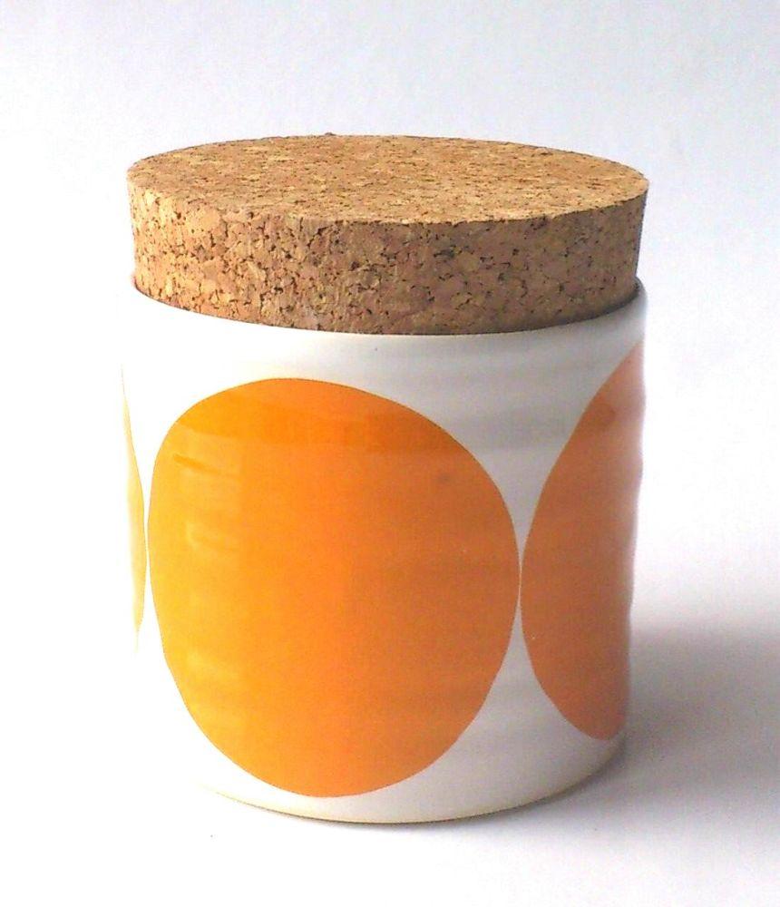 Circles Sugar Jar by Camilla Engdahl