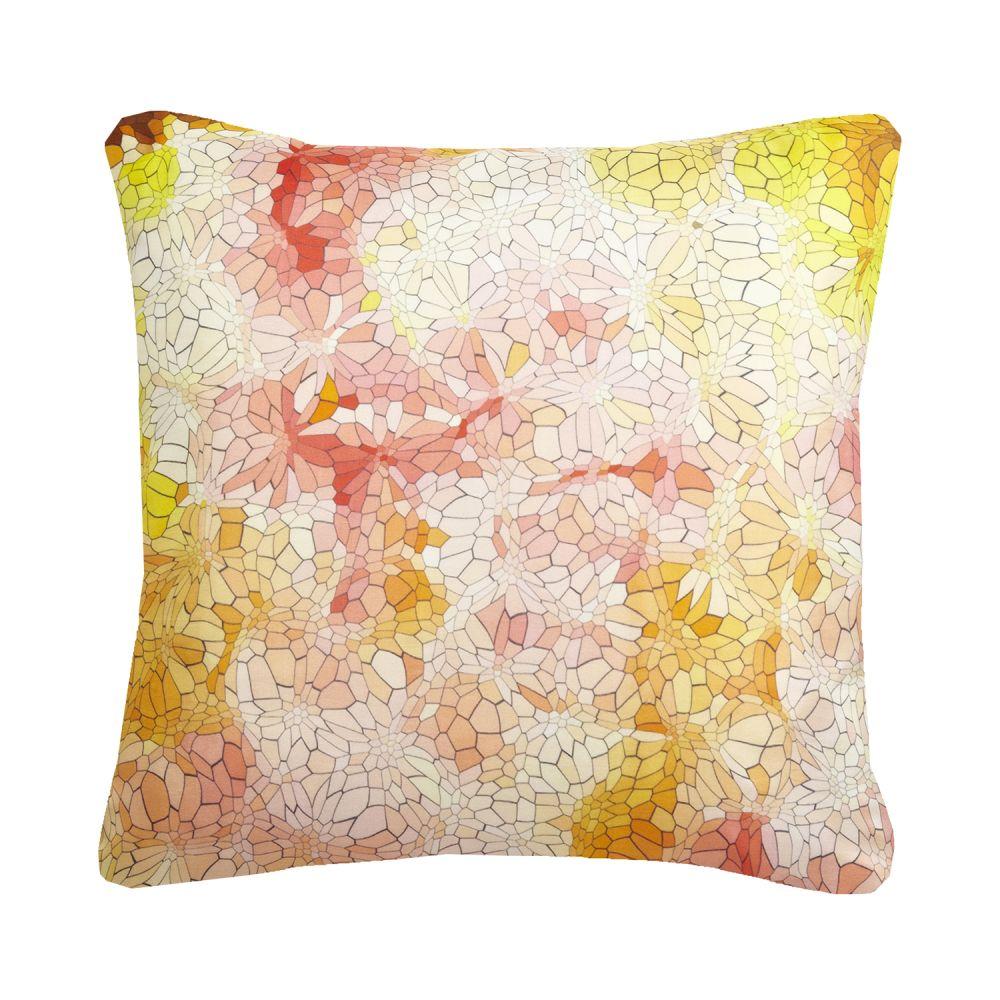 Clarity Mosaic Printed Cushion  by Nitin Goyal London