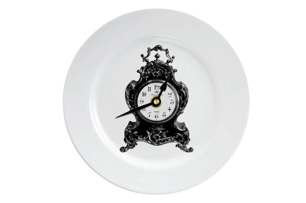 Clock Plate Clock by Mineheart