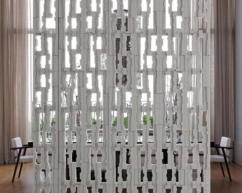 architectural room dividers. Cobog  Frammento Room Divider Pack of 5 by mg12