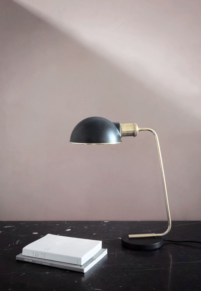 Collister Table Lamp Mirror Polished Brass By Menu