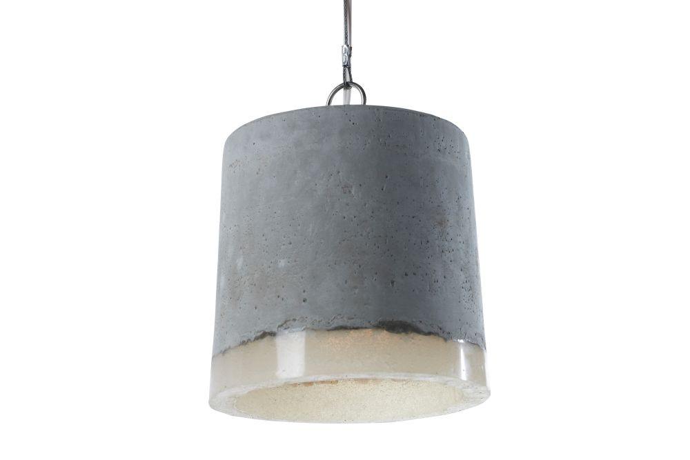 Concrete Pendant Light Large By Renate Vos Clippings