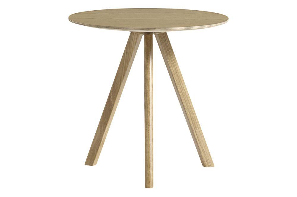 Copenhague Veneer Top Round Coffee Table CPH20 by Hay