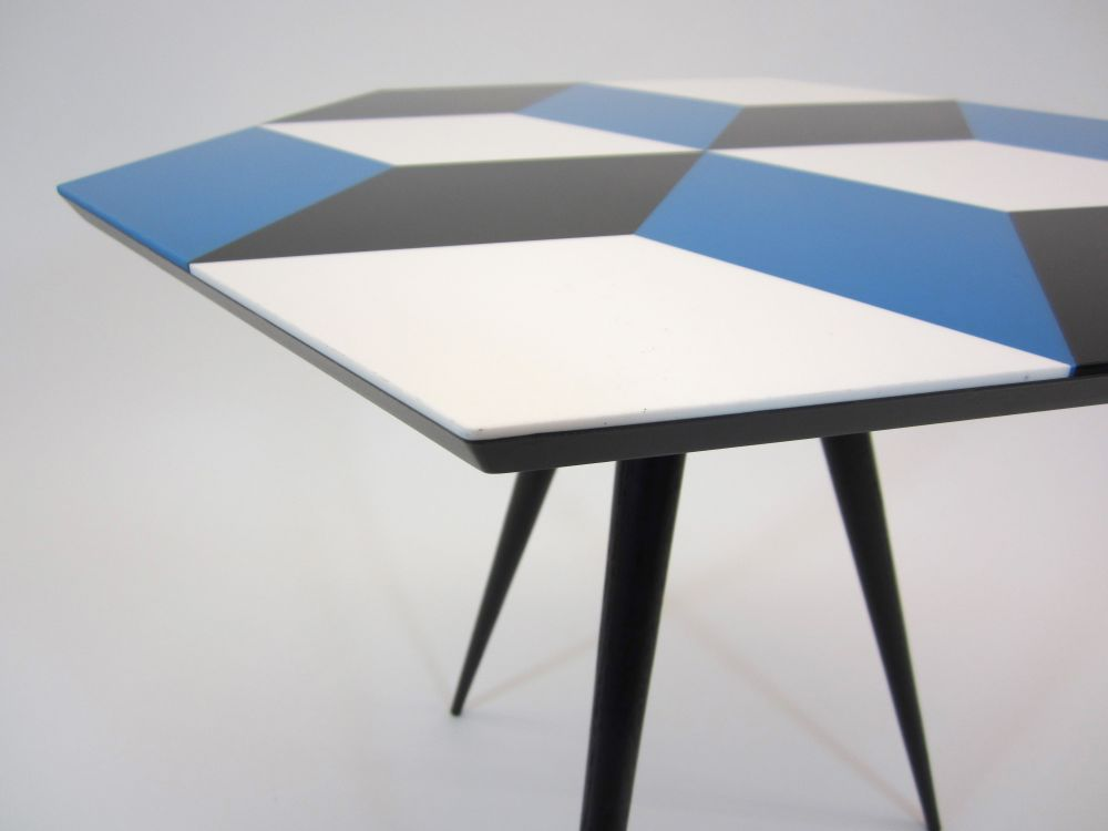 Cube 6 Side Table by ROCKMAN & ROCKMAN