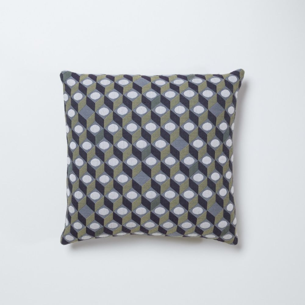 Cubes Square Cushion by Another Country