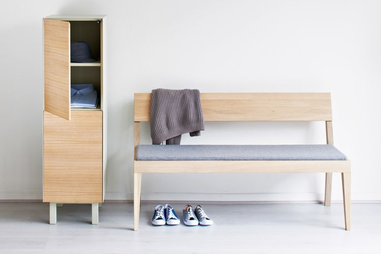 Cubo Bench With Upholstered Seat by Another Brand