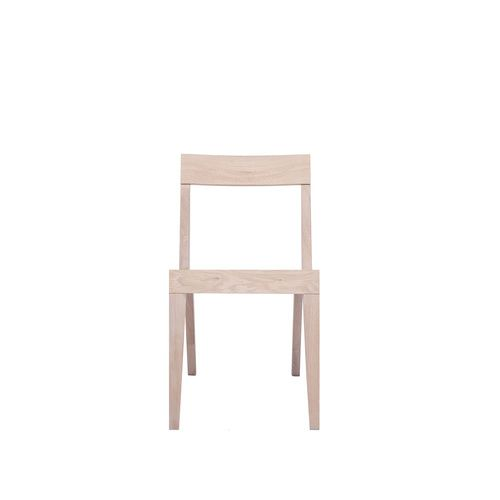 Cubo Chair With Wood Seat by Another Brand