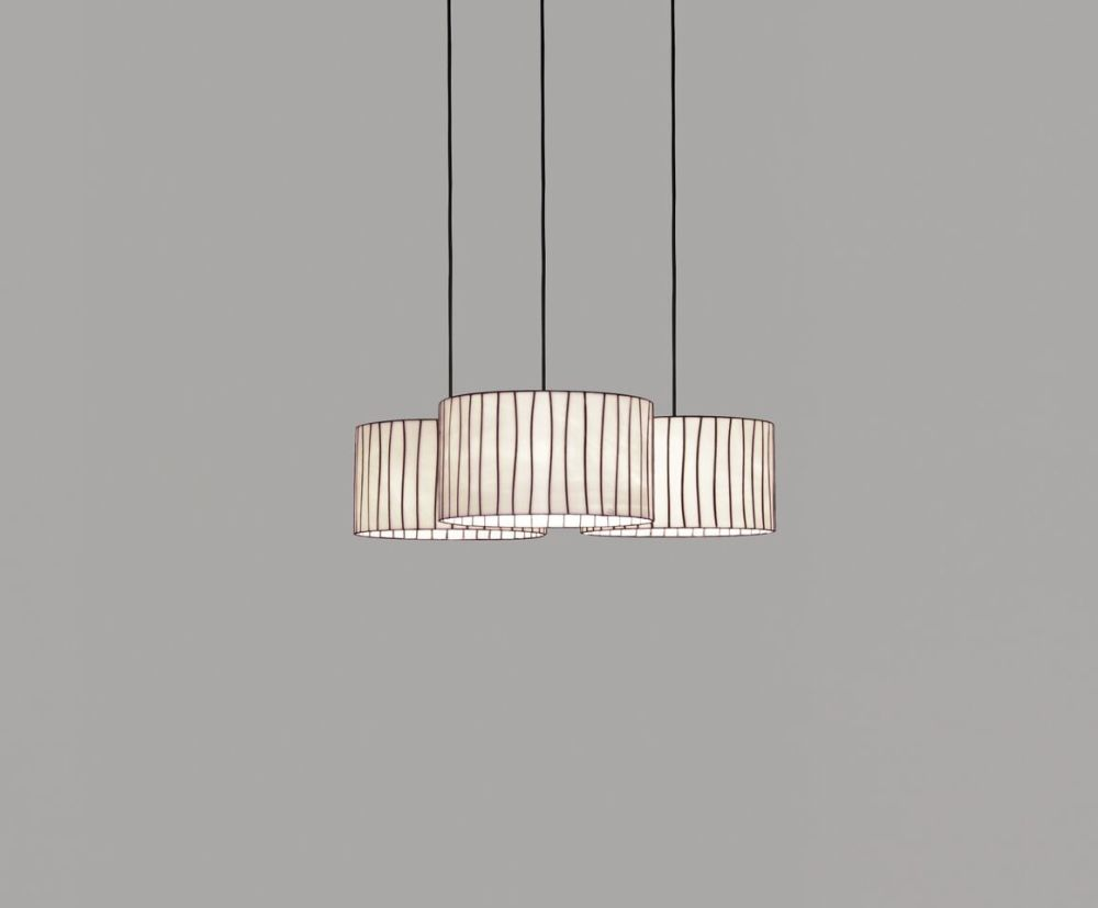 Curvas CV04C-3 chandelier by arturo alvarez