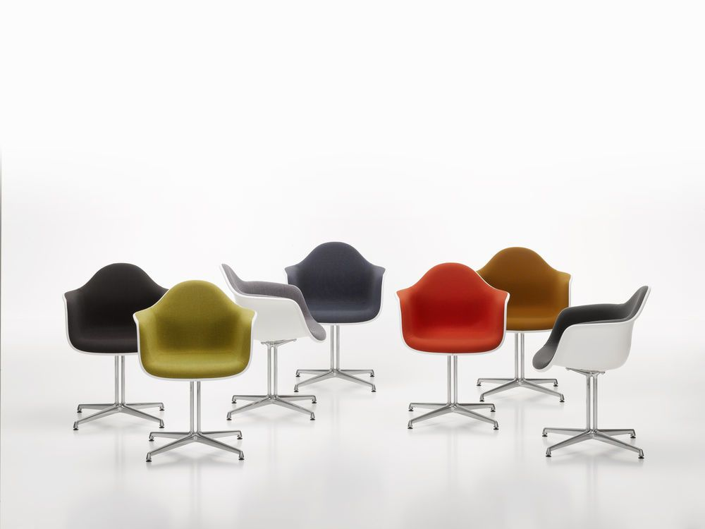 DAL With Full Upholstery by Vitra