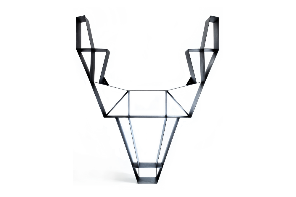 Deer Metal Shelf by BEdesign