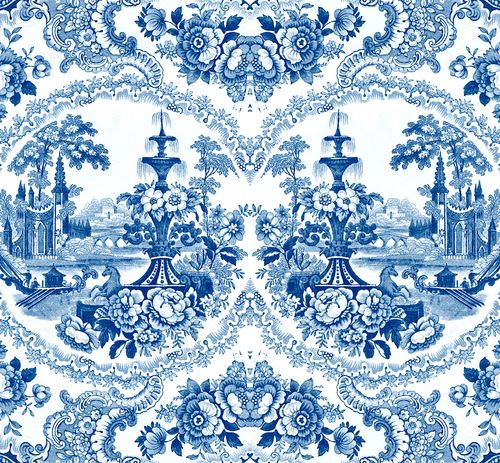 Delft Baroque Wallpaper by Mineheart