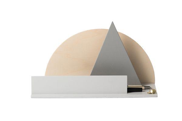 Desk Organiser by Golden Biscotti