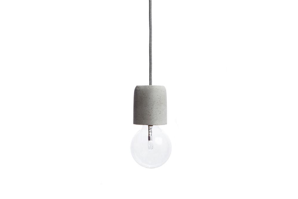 Dolio Q Concrete Pendant Light by URBI ET ORBI