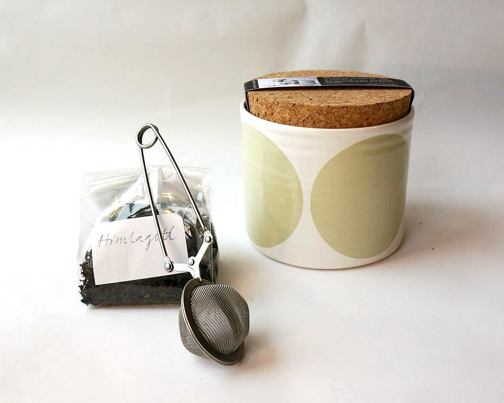 Dot Pot with Large Lid by Camilla Engdahl