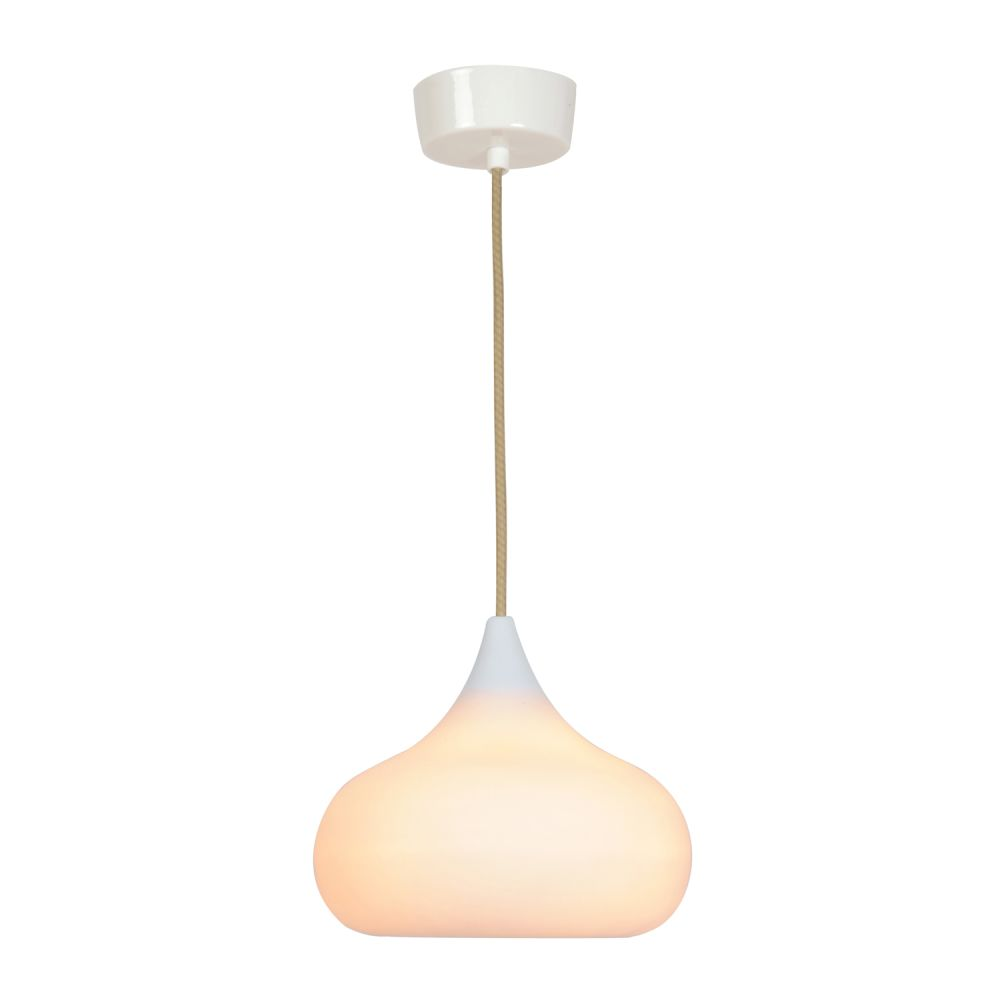 sc 1 st  Clippings & Drop Two Pendant Light Natural White Matt by Original BTC