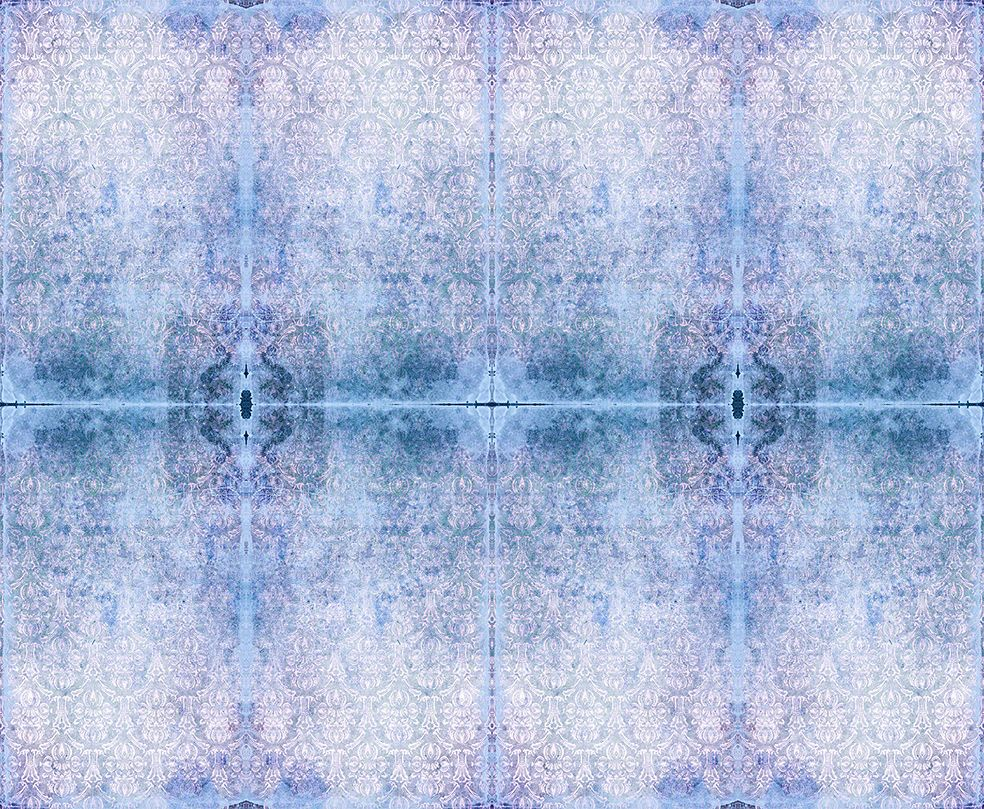Duprez Misty Blue Wallpaper by Blackpop