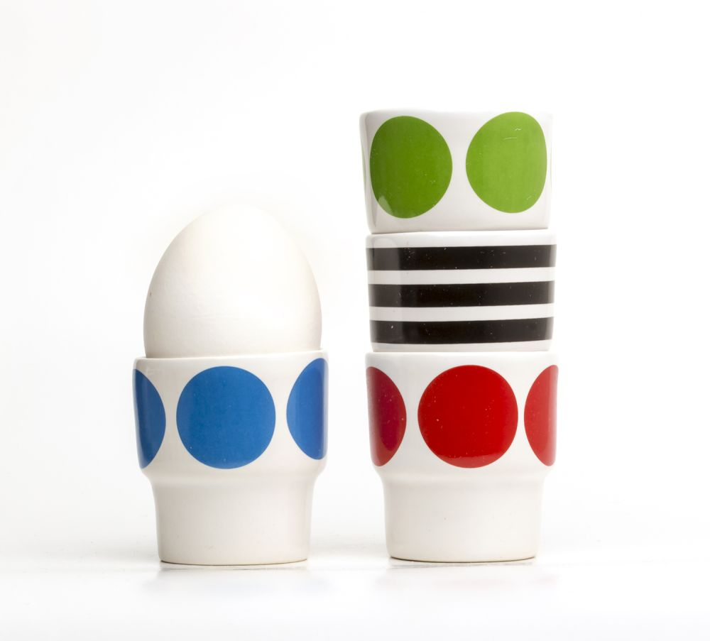 Egg Cups - Set of 2 by Camilla Engdahl