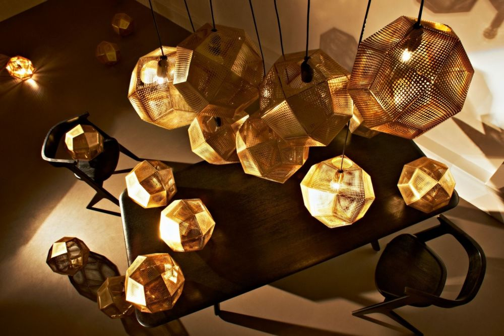tom dixon lighting. Giving Out A Soft, Ambient Glow, Etch Pendants Can Be Hung Individually Over Dining Table, For Example, Or More Dramatic Effect Hang Them In Multiples Tom Dixon Lighting