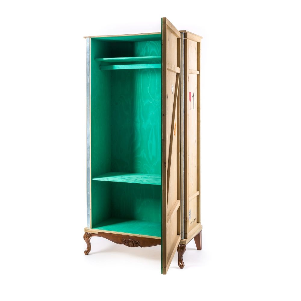 Export Comò Wooden Wardrobe by Seletti