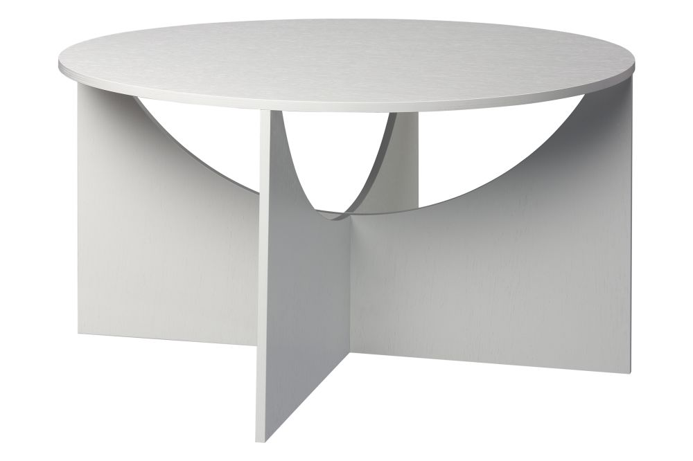 Ferdinand Kramer fk05 coffee table signal white by ferdinand kramer for e15
