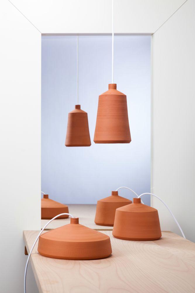 Flame Pendant Lamps by Pott - Design by Miguel Ángel García Belmonte