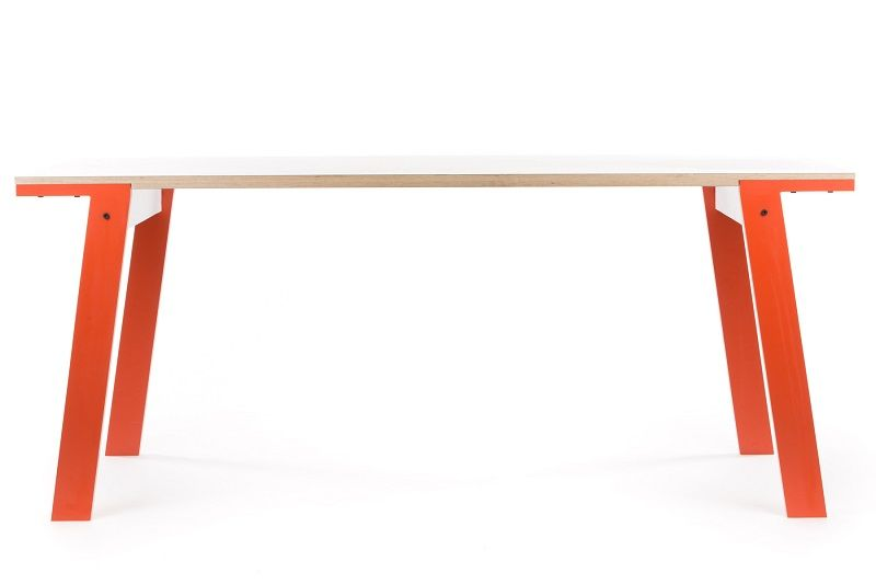 rform Flat Table - Foxy Orange