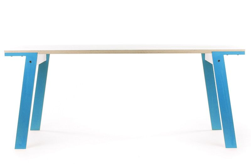 rform Flat Table - Iris Blue