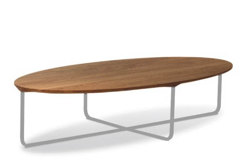 Flint Oval Coffee Table by Montis