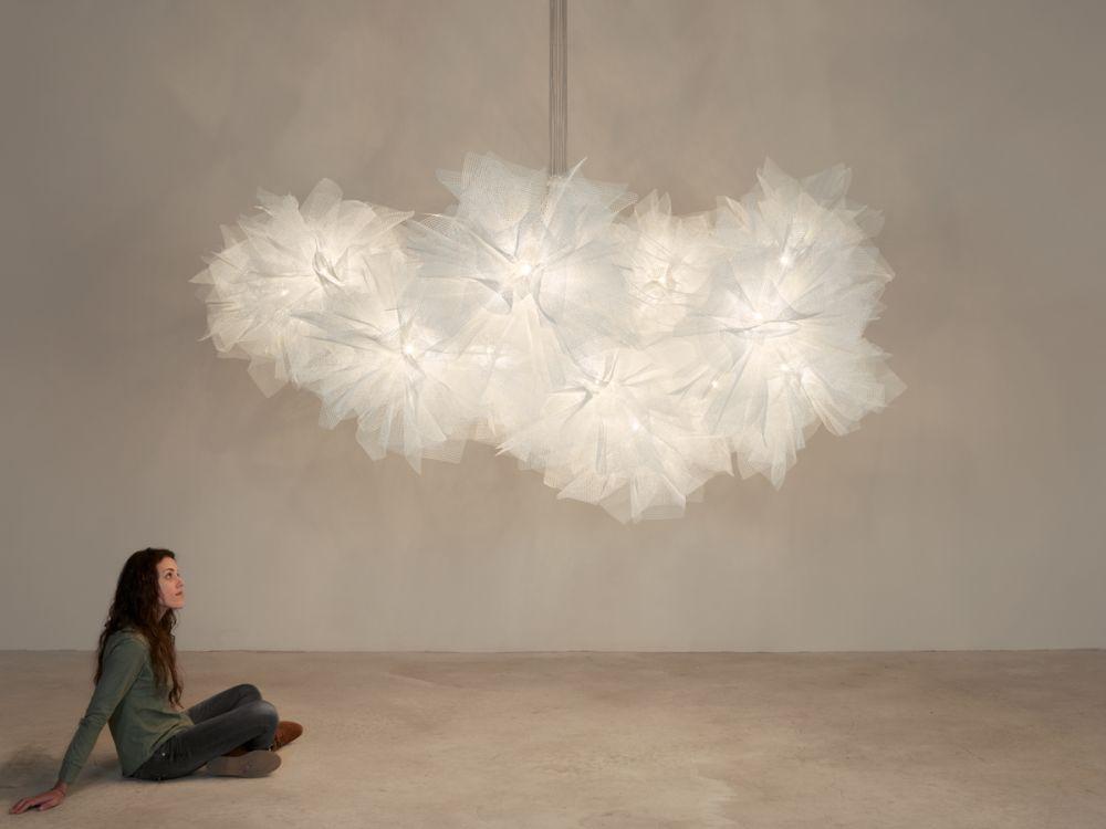 fluo fl04 16 pendant light white by arturo Álvarez for arturo alvarez