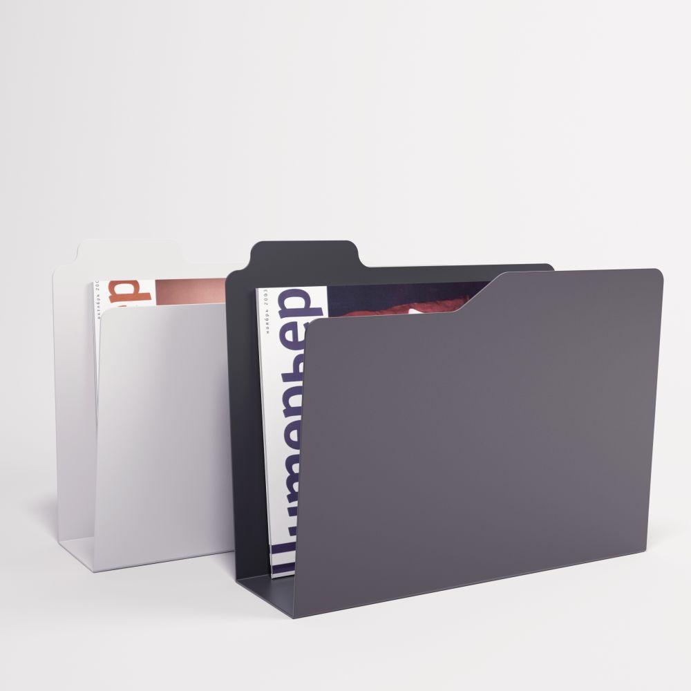 Folder Magazine Rack by Enrico Zanolla