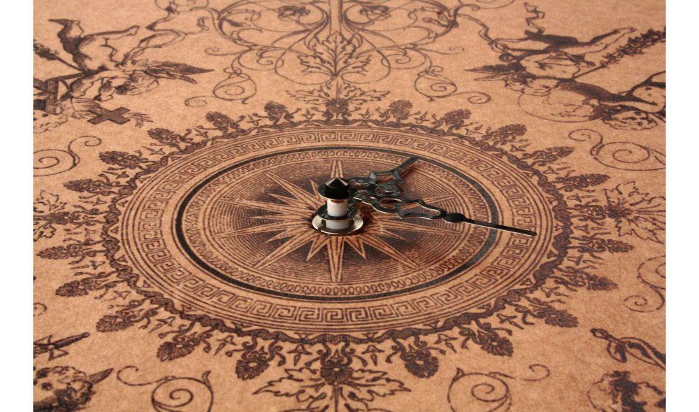 Fugue by Bach Clock by Karton Art Design