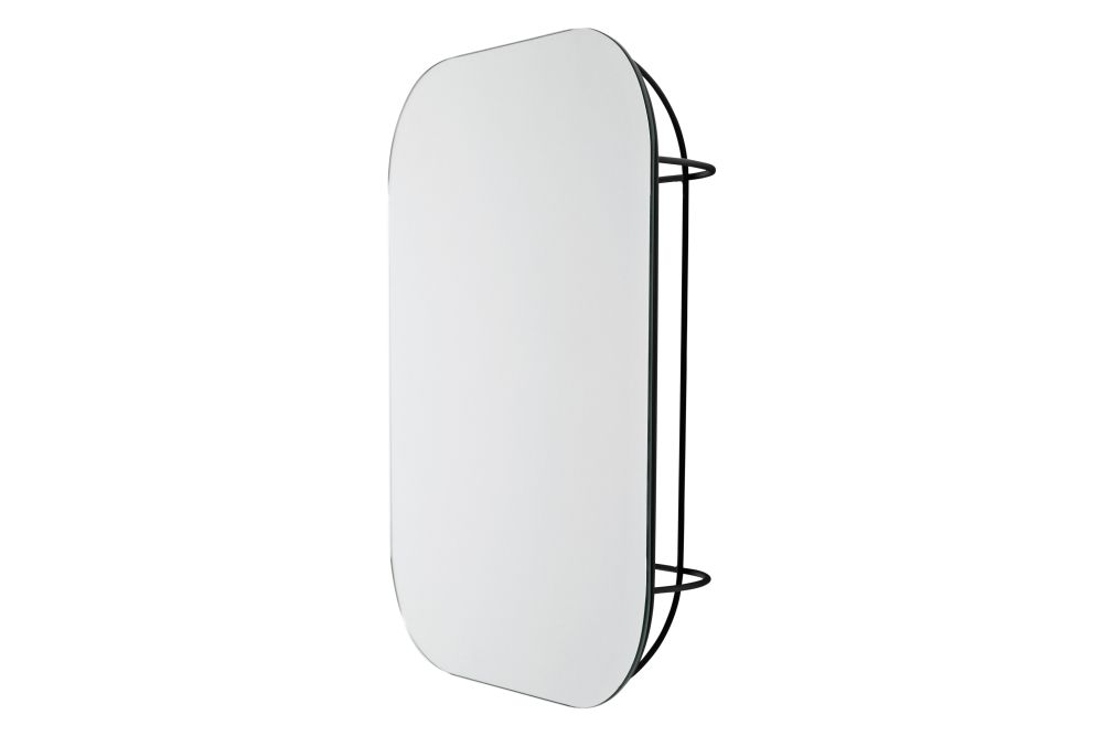 Fuwl Cage Wall Mirror by Menu