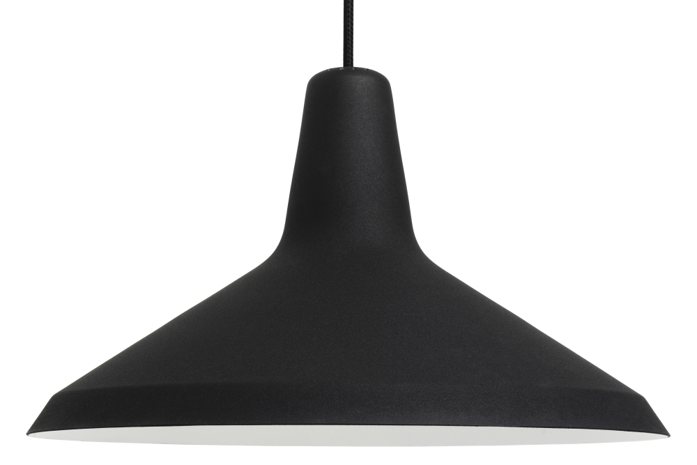 Grossman Lighting Inside G10 Pendant Light Black By Greta M Grossman For Gubi Clippings