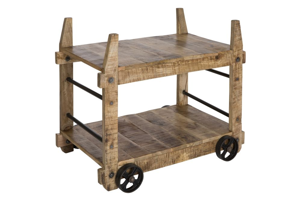 Gadu Industrial Trolley and Table by Reason Season Time