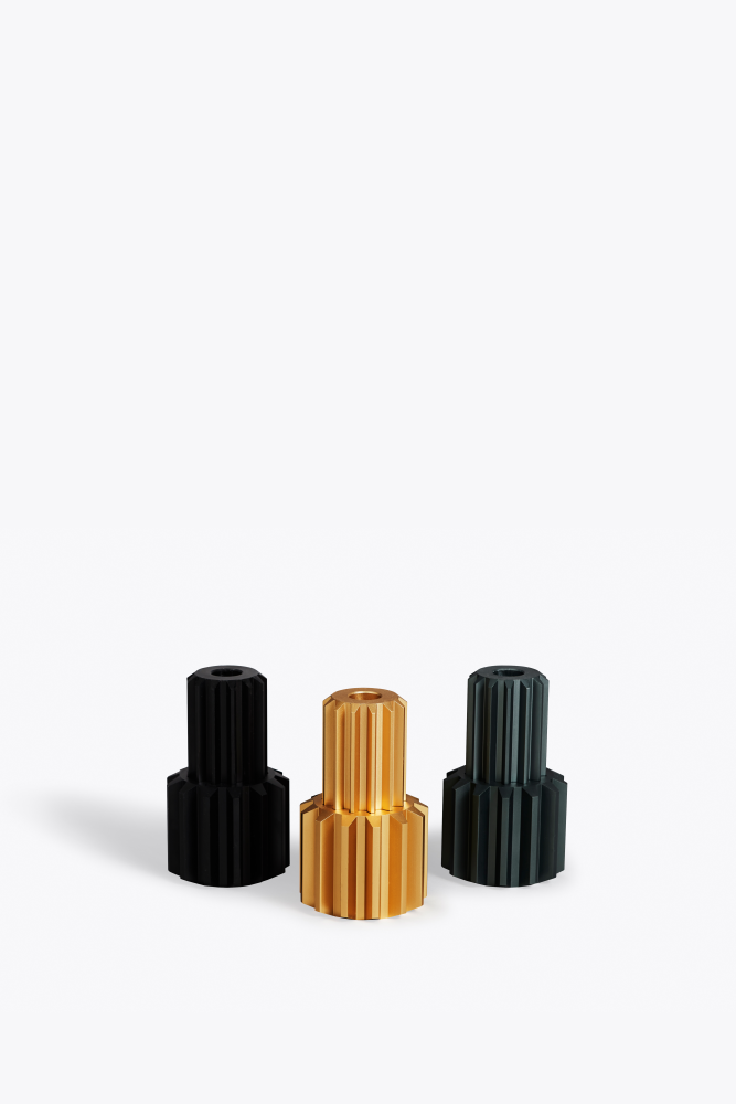 Gear Candle Holder by New Works