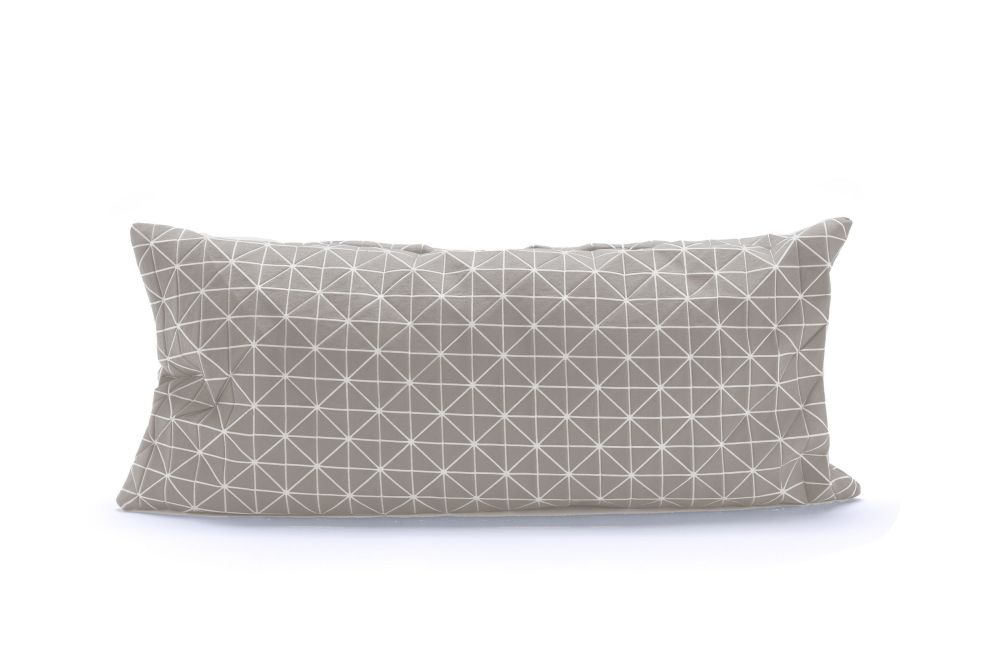 Geo Origami Rectangular Cushion Cover by Mikabarr