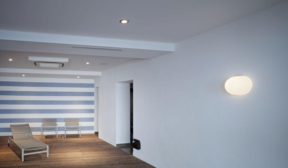 Glo-Ball W Wall Light by Jasper Morrison for Flos