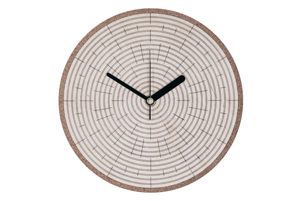 Grow Wall Clock by Splinter Designs