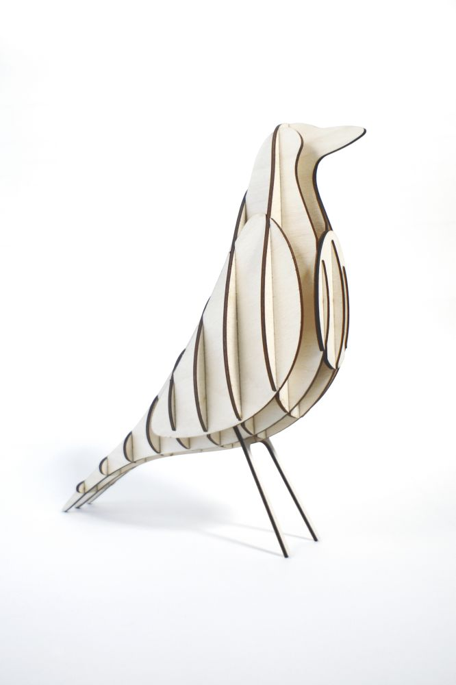 GANTlights [H2] DIY wood bird