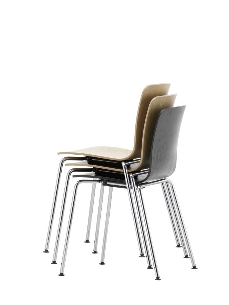 HAL Ply Tube Stackable Chair by Vitra