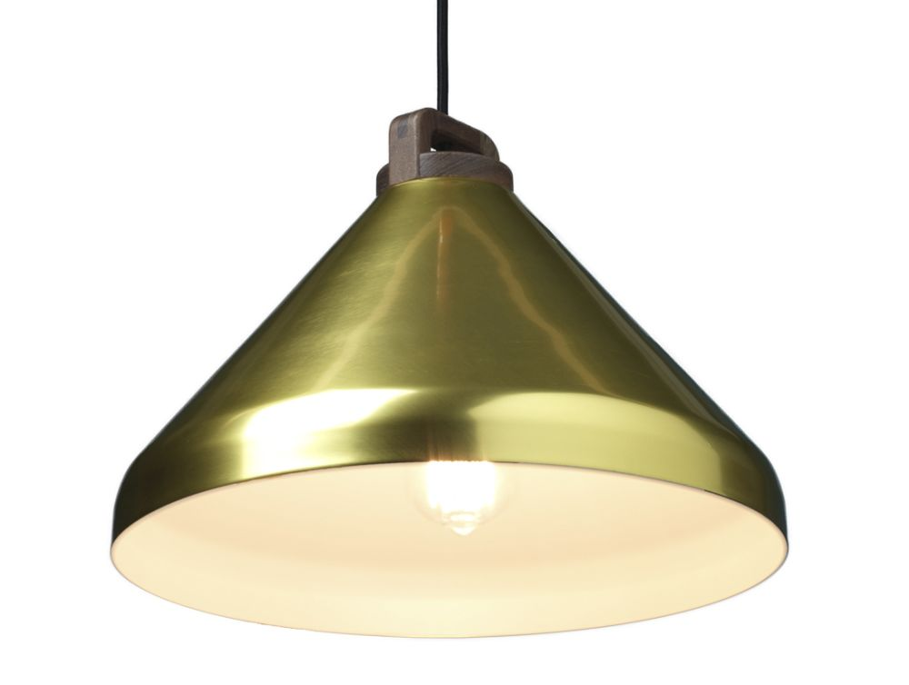 Handle Wide Pendant Light by Authentics