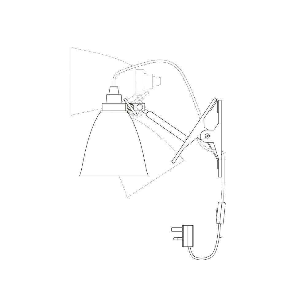 Hector Dome Clip Light by Original BTC
