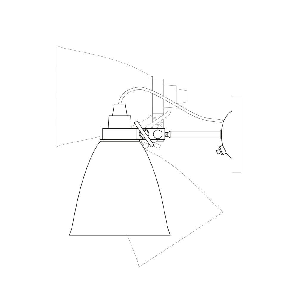 Hector Dome Wall Light by Original BTC