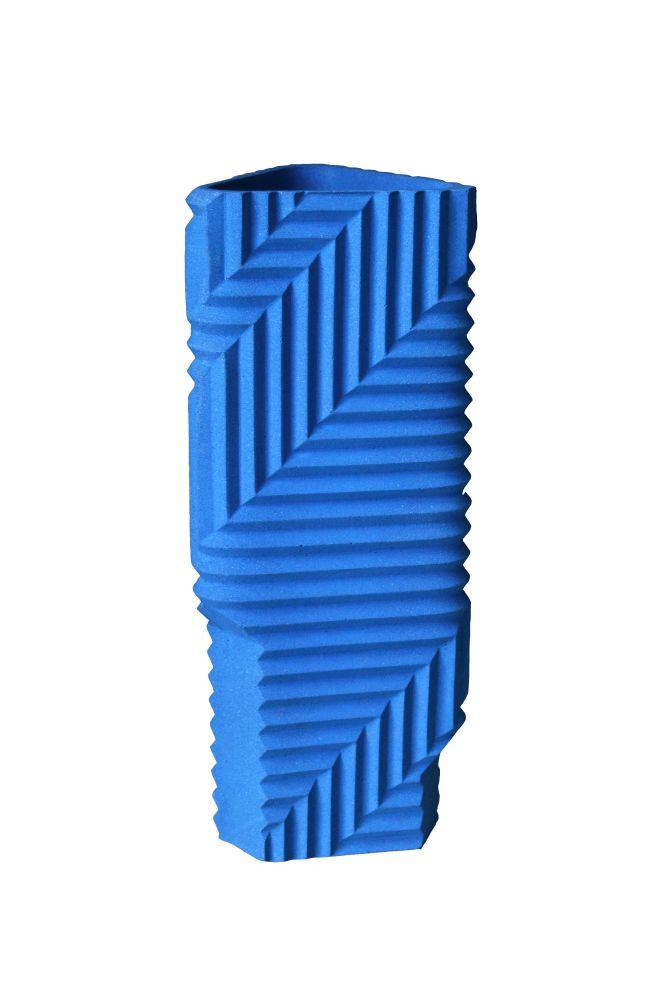 Herringbone Vase by Phil Cuttance