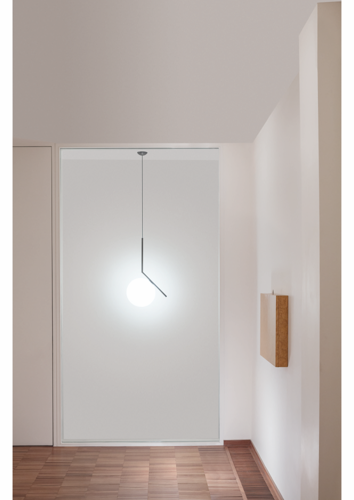 Ic pendant light s1 brushed brass small by flos - Ic lights flos ...