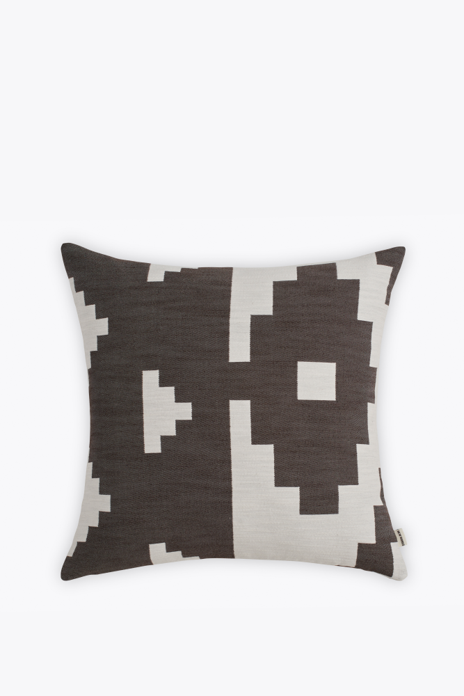 Ikat Square Cushion by New Works